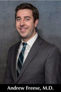 Andrew Freese, M.D.