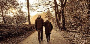 couple walking